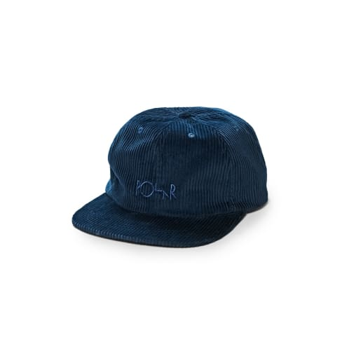 Polar Skate Co. Corduroy Cap Blue
