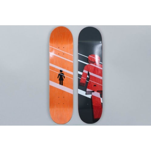 Girl 7.25 Brandon Biebel Shutter OG Skateboard Deck