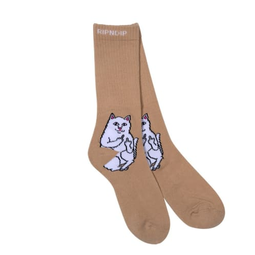 RIPNDIP Lord Nermal Socks - Tan