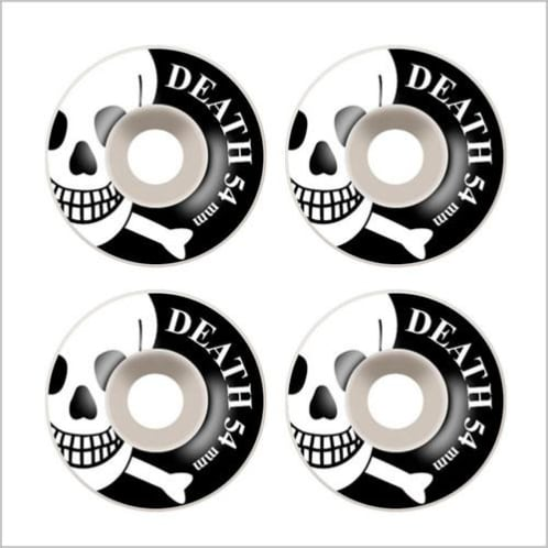 Death Skull Wheels 52mm - 56mm