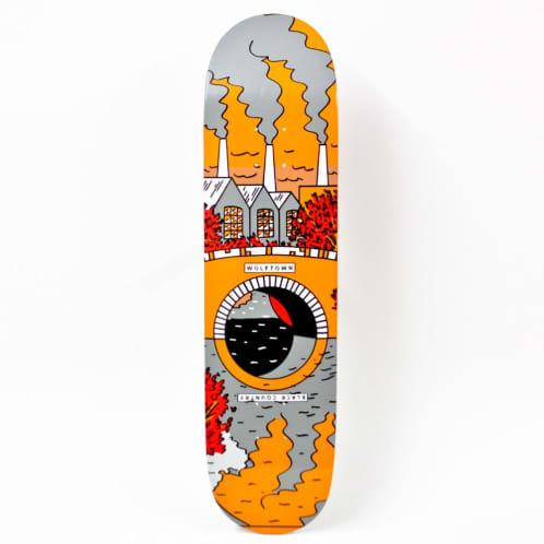 """Wolftown Black Country Reflections Series - Orange/Grey 8.0"""""""