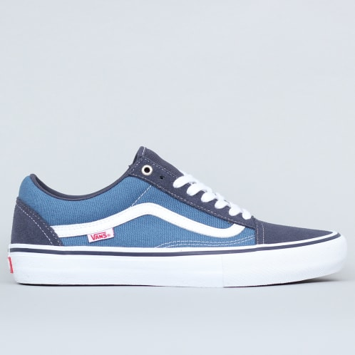 Vans Old Skool Pro Shoes Navy / Stv Navy / White