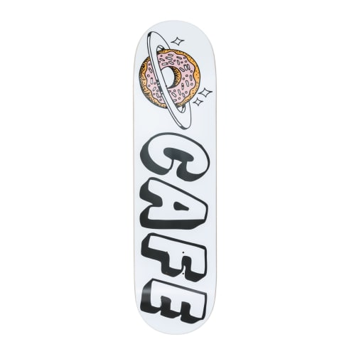Skateboard Cafe Planet Donut White Deck - 8.25""