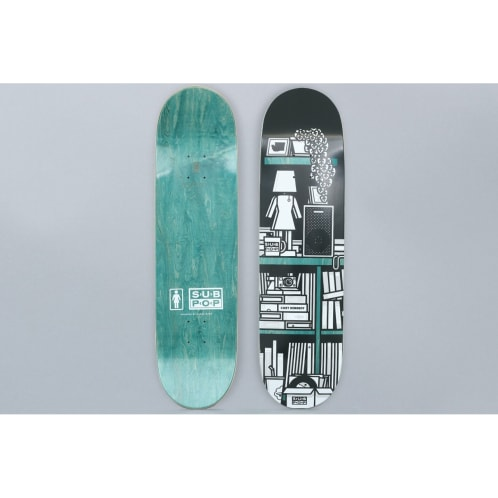 Girl 8.375 Cory Kennedy Subpop Skateboard Deck