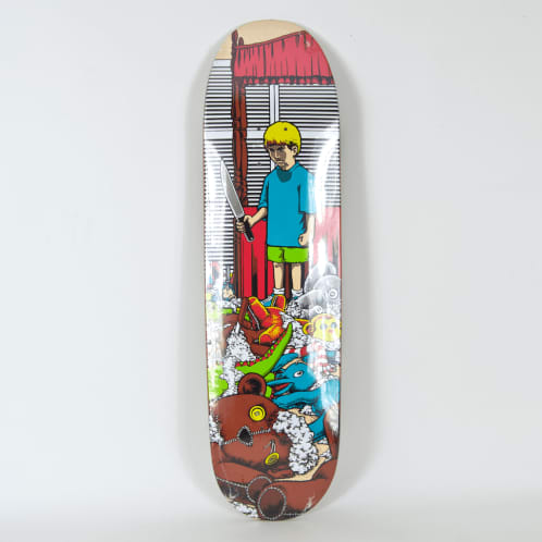 "101 Skateboards - 8.5"" Adam McNatt Stuffed Animals Deck"