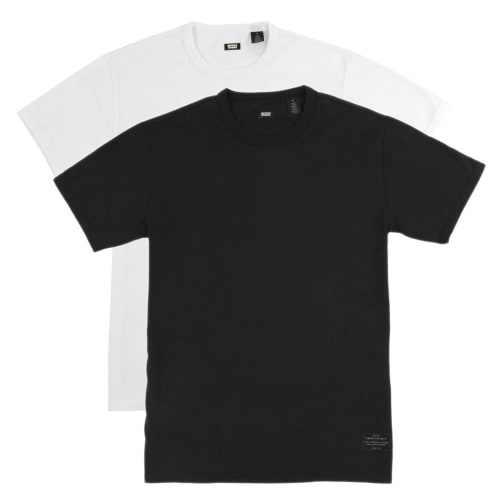 Skate 2 Pack T-Shirt | Black & White