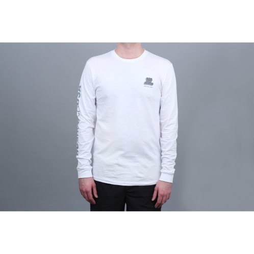 DC X Slam City Skates Longsleeve T-Shirt White