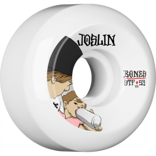 Bones Skateboard Wheels Joslin London V5 Street Tech Formula STF 53mm