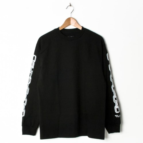 Hotel Blue Chains Long Sleeve Black