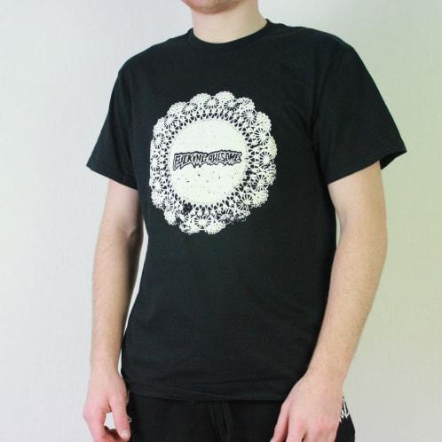 Fucking Awesome Doiley T-Shirt Black