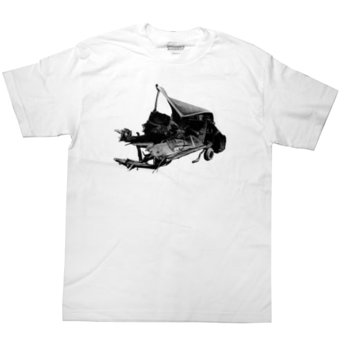 "Brixton's Baddest ""The Smokers: Albert Camus Car Crash"" Tshirt"