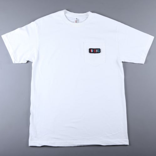 CSC 'Bolts Patch' Pocket T-Shirt (White)