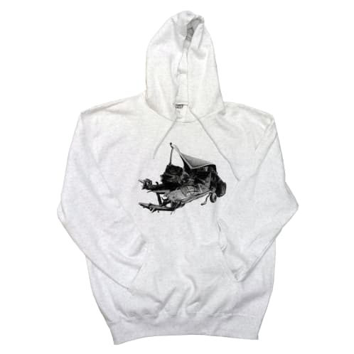 "Brixton's Baddest ""The Smokers: Albert Camus Car Crash"" Hoodie"