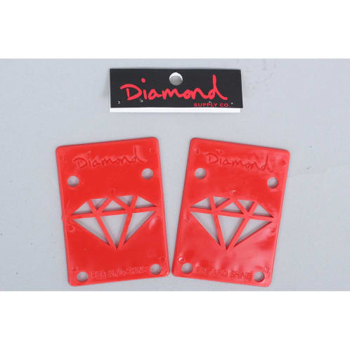 Diamond Riser Pads Red