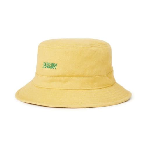 Brixton Simmons Bucket Hat (Yellow)