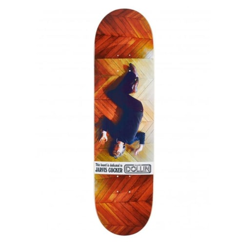 Baker Skateboards Dustin Dollin Jarvis Cocker Dedication Skateboard Deck - 8.25
