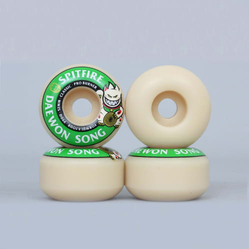 Spitfire 52mm 99DU Formula Four Daewon Song Burner Wheels Natural