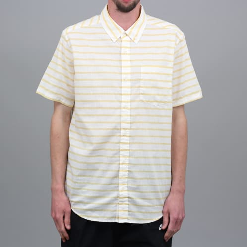 Patagonia Lightweight Bluffside Shirt Terrain Stripe : Surfboard Yellow