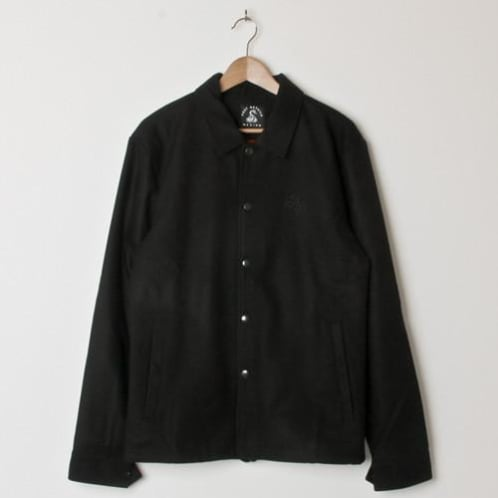 Post Hats & Details Almost Dead Snake Embroidery Wool Coach Jacket