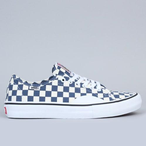 Vans AV Classic Pro Shoes (Checkerboard) Dark Denim
