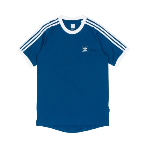 Adidas Cali BB T-Shirt - Legend Marine/White