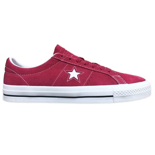 Converse Cons One Star Pro OX Shoe Rhubarb/White