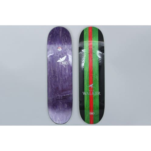 Real 8.38 Kyle Walker Shine skateboard Deck Black