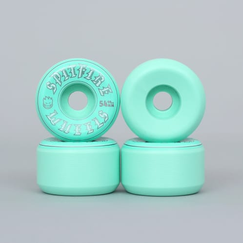 Spitfire 54mm 99DU Old English Wheels Turquoise