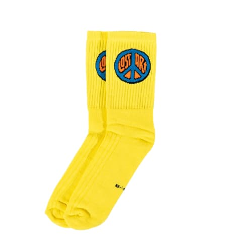 Lost Art - De LA Cero Socks Yellow