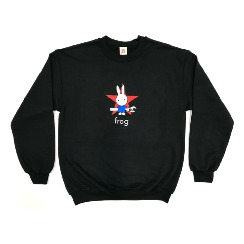 "Frog ""Earth Defense"" Crewneck"
