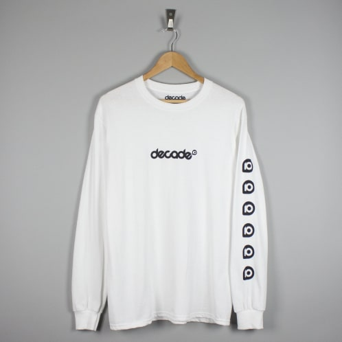 Decade 10 Longsleeve T-Shirt White
