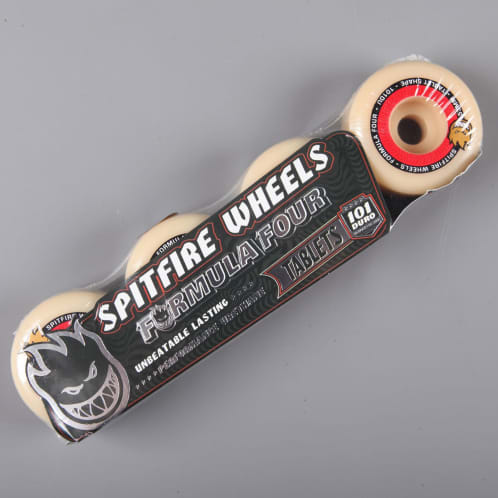 Spitfire 'Formula Four' Tablet 53mm 101D Wheels