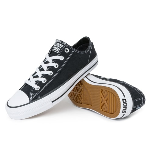 Converse Chuck Taylor All Star Pro Shoes - Black/Black/White