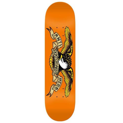 "Anti Hero Classic Eagle Deck Orange - 9.00"""