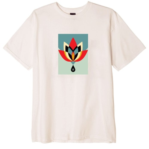Obey Geometric Flower - Natural