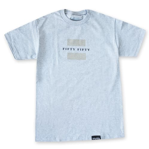Fifty Fifty Filter T-Shirt Heather Grey