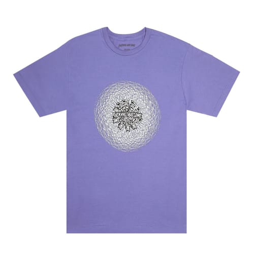 Fucking Awesome Orb T-Shirt Violet