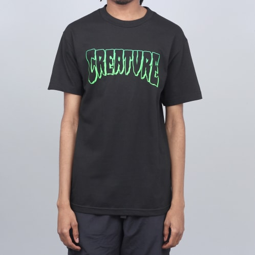 Creature Outline T-Shirt Black