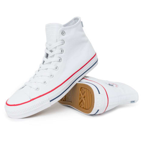 65b983956b5f2e Converse Chuck Taylor All Star Pro High Shoes - White Red Insignia Blue