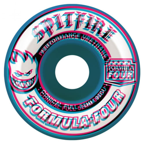 Spitfire Formula Four Overlay Radial Wheels 99a - 54mm
