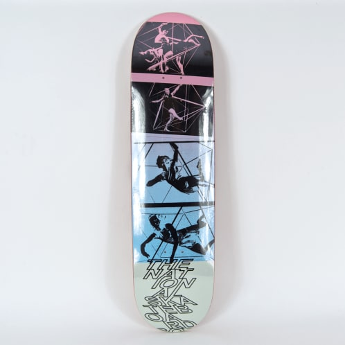 """The National Skateboard Co. - 8.0"""" Move Deck (High Concave)"""