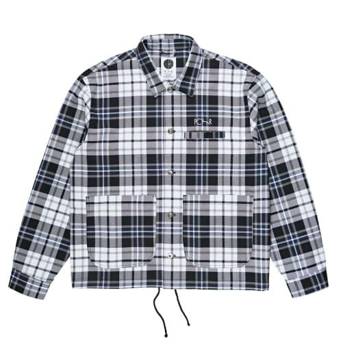 Polar Plaid Work Jacket - Grey
