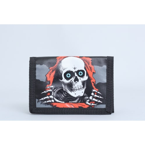 Powell Ripper Tri Fold Wallet Black