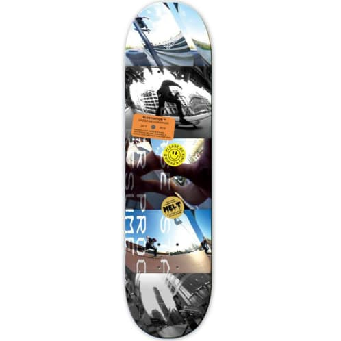 The National Gregoire Cuadrado Blobystation Deck - 8.25""