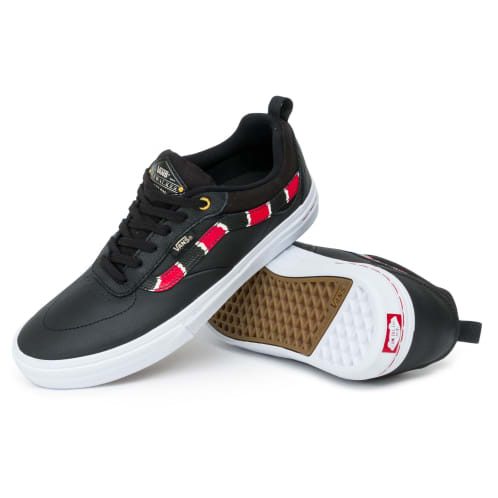 Vans Kyle Walker Pro Shoes - Coral Snake/Black/True White