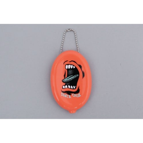 Santa Cruz Screaming Wallet Coin Pouch Coral
