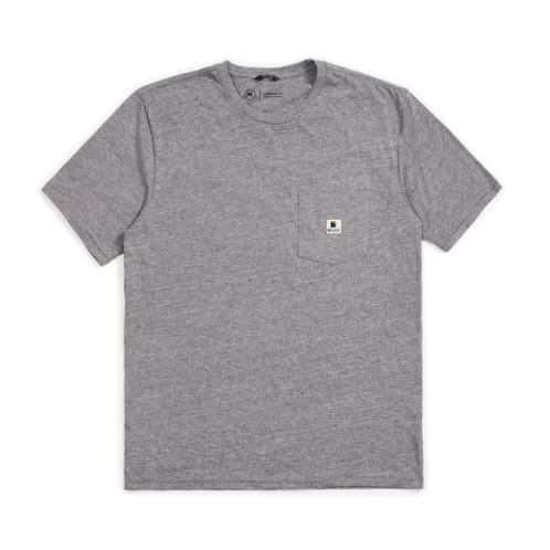 Stowell Pocket T-shirt | Grey