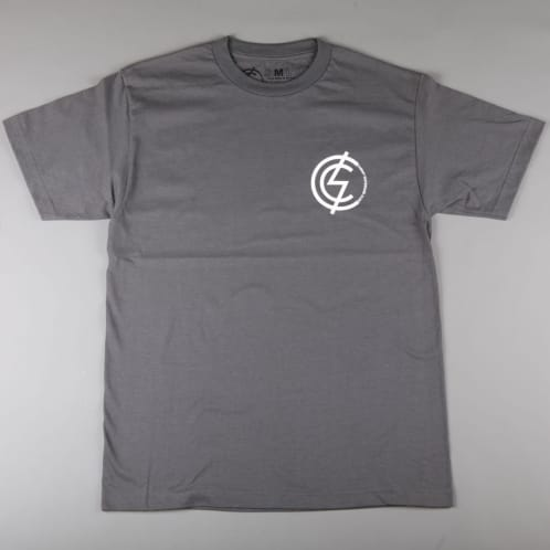 CSC 'Mod Chest' T-Shirt (Charcoal / White)