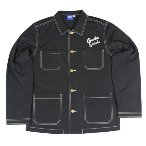 Quartersnacks Nylon Chore Jacket Black