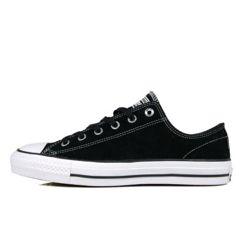 Converse Cons CTAS Pro Ox Shoes - Black/Black/White Canvas